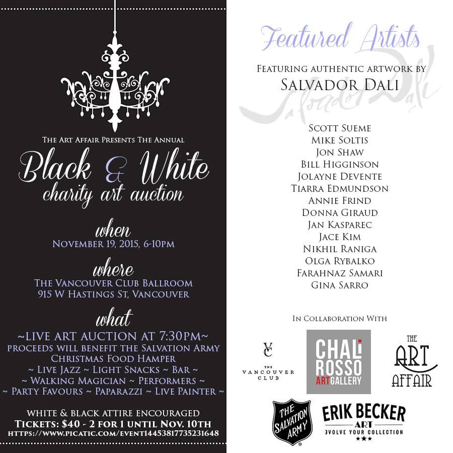invite black and white gina sarro landscapes